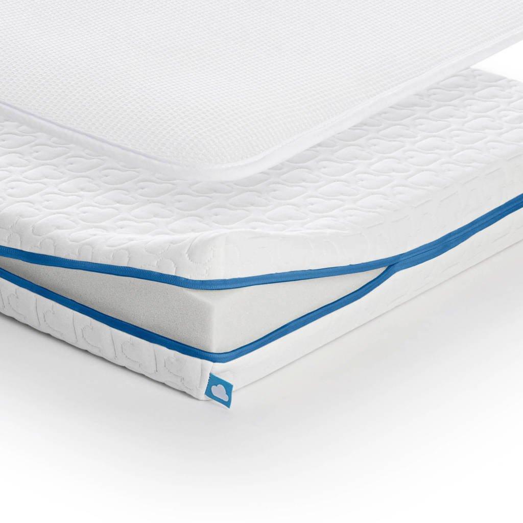AeroSleep ® Evolution Pack 2-in-1 : Matras + 3D Beschermer (70x150 cm), Wit