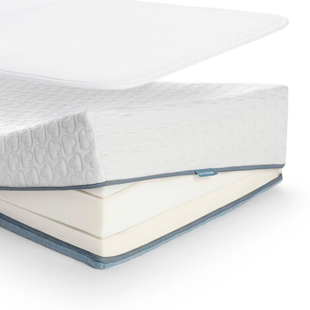 AeroSleep ® Evolution Pack PREMIUM : Matras + 3D Beschermer (70x140 cm), Wit