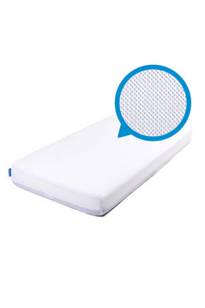 polyester ® SafeSleep Hoeslaken voor PREMIUM matras Wit