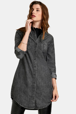 blousejurk black denim