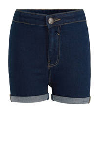 C&A Here & There jeans short donkerblauw, Donkerblauw
