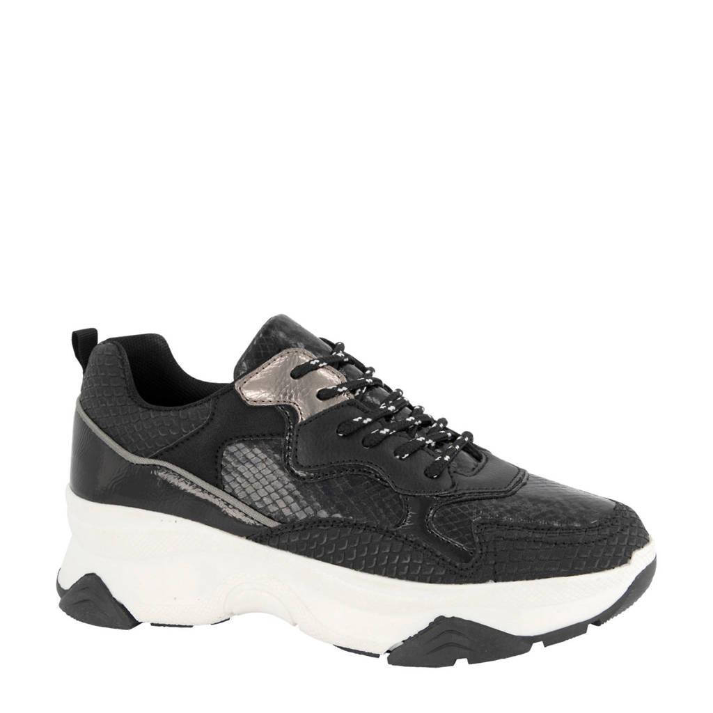 Oxmox   chunky sneakers zwart, Zwart