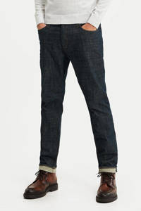 WE Fashion Blue Ridge gemêleerde slim fit jeans Sloane Oslo used denim, Used denim