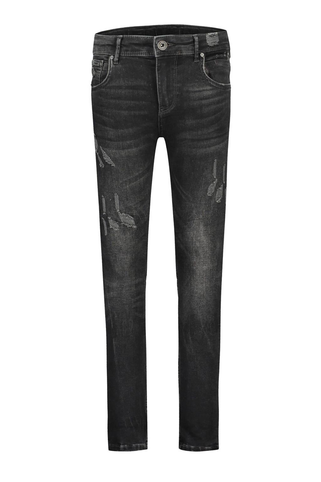 Ballin skinny jeans Jeans Pure White zwart, Zwart