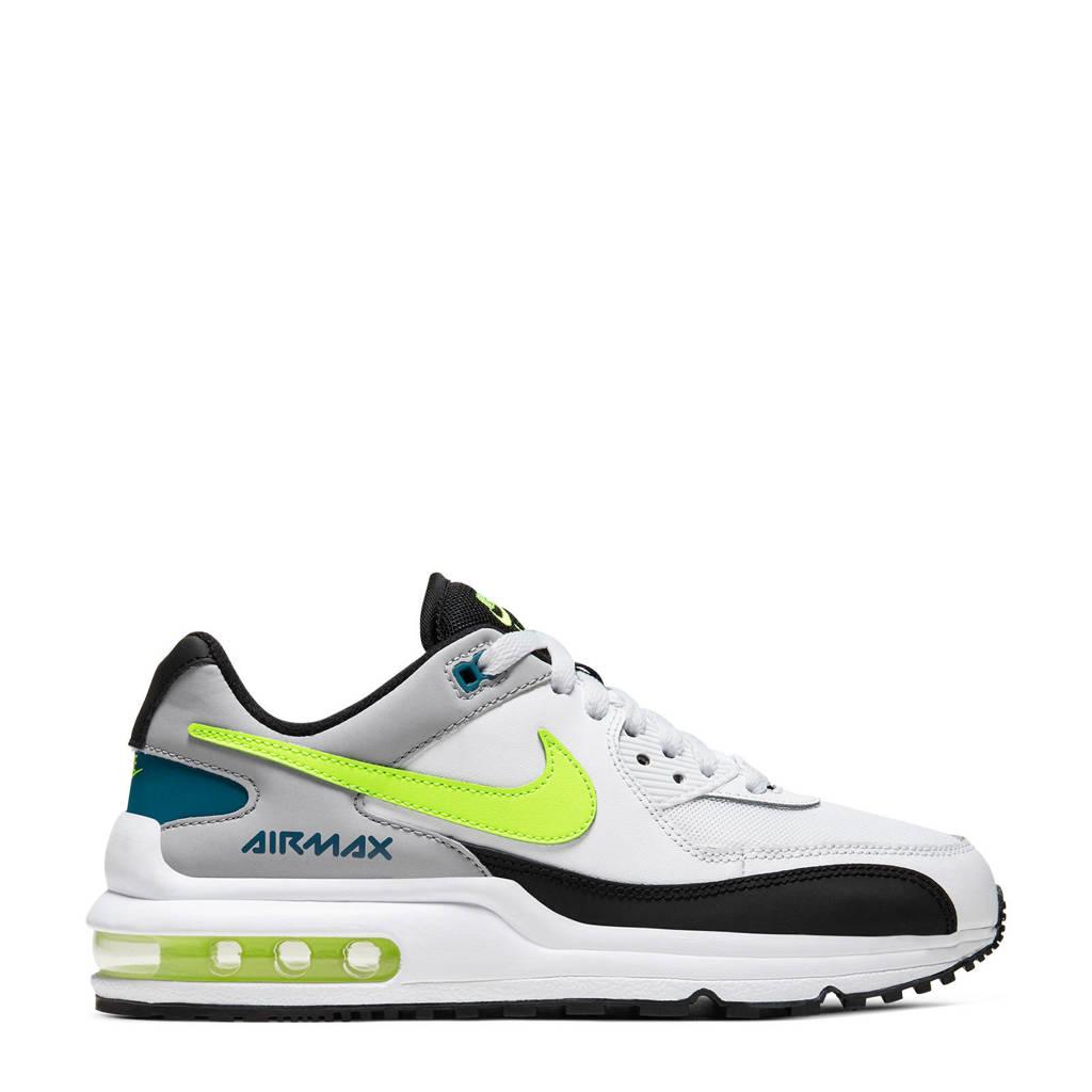 Nike Air Max Wright sneakers wit/geel/zwart, wit/geel/grijs/zwart