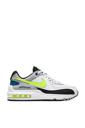 Air Max Wright sneakers wit/geel/zwart