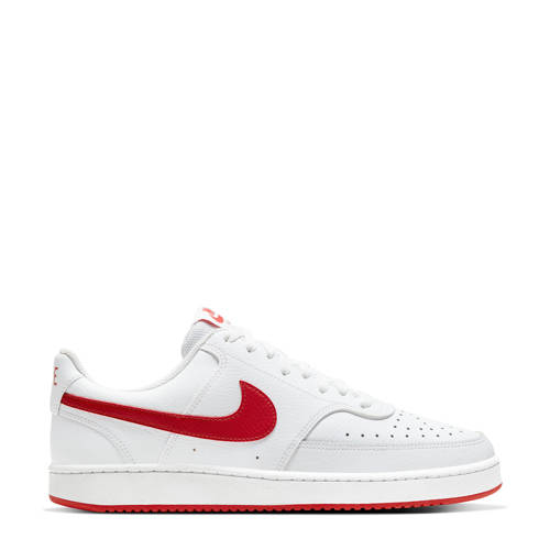 Nike Court Vision sneakers wit/rood