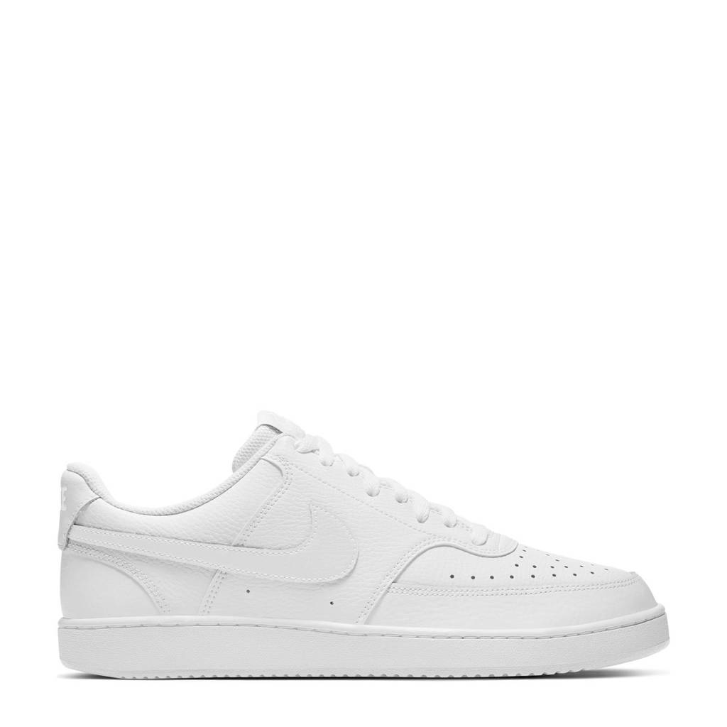 Nike Court Vision sneakers wit, Wit