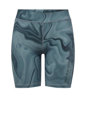 sportshort grijsblauw