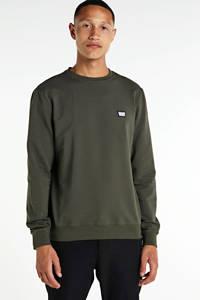 Antony Morato sweater met logo kaki, Kaki