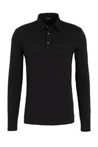 Antony Morato regular fit polo zwart, Zwart