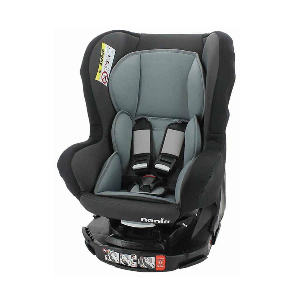 Nania autostoel Groep 0/1/2 - REVO ACCESS - GREY, Antraciet/grijs