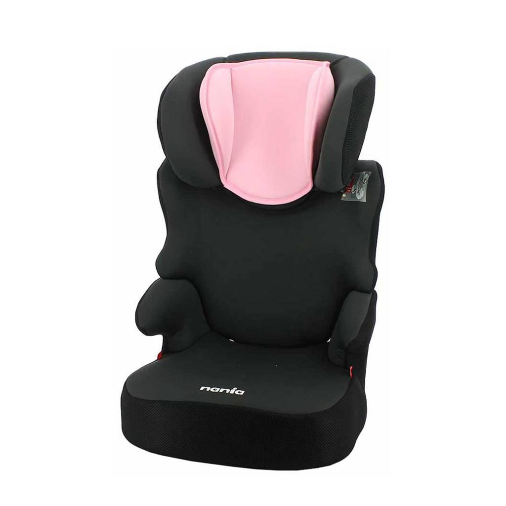 Nania autostoel Groep 2/3 - BEFIX SP SKYLINE - PINK, Donkergrijs, Roze