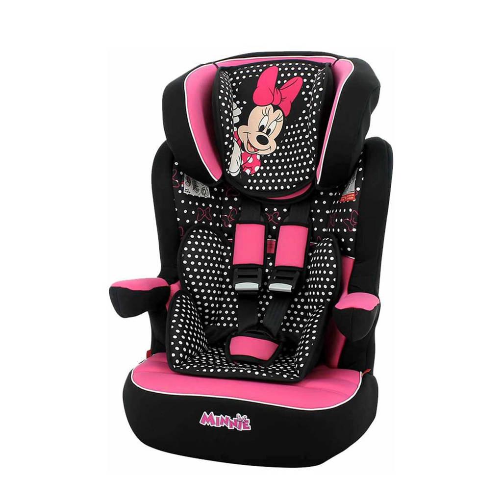 Disney autostoel Groep 1/2/3 - I-MAX LUXE - MINNIE, Roze