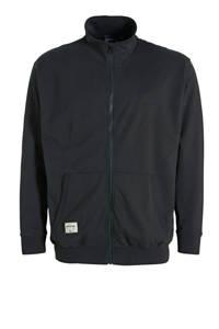 North 56°4 +size vest zwart, Zwart