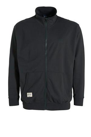 +size vest zwart