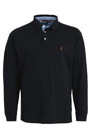 +size regular fit polo zwart