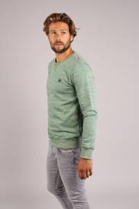 GABBIANO gemêleerde sweater lichtgroen, Lichtgroen