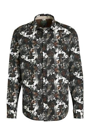 regular fit overhemd met all over print multi