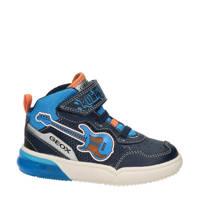 Geox Gray Boy  hoge sneakers blauw, Blauw