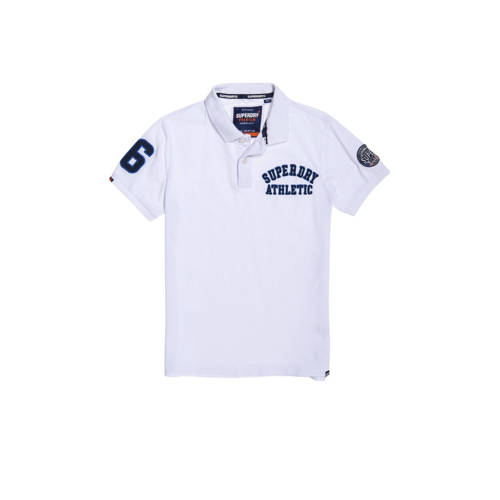 Superdry regular fit polo wit