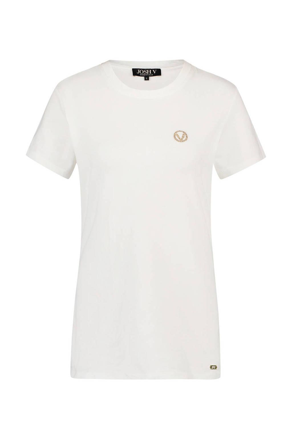 JOSH V T-shirt ZOE wit, Wit