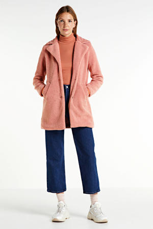coat DOFI-LONG1 roze
