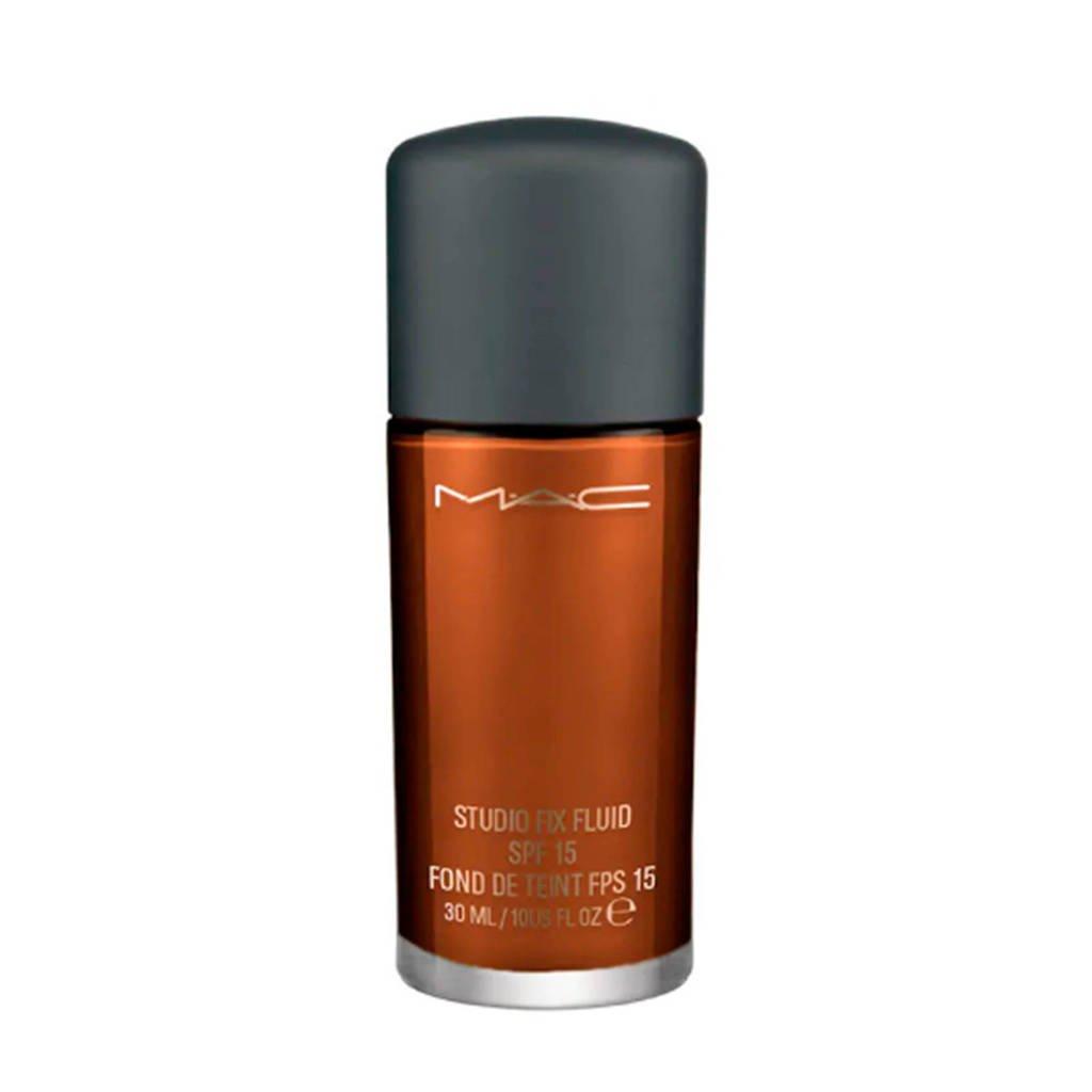 MAC Cosmetics Studio Fix Fluid SPF15 foundation - NW 47