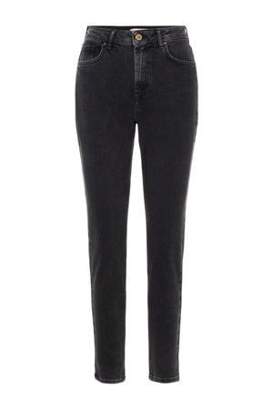 high waist slim fit jeans PCLEAH black