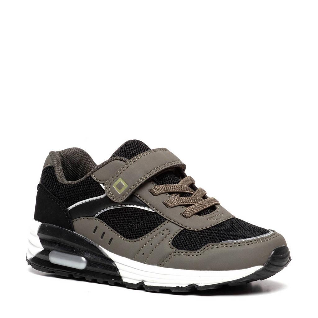 Scapino Blue Box   sneakers zwart/groen, Groen/zwart