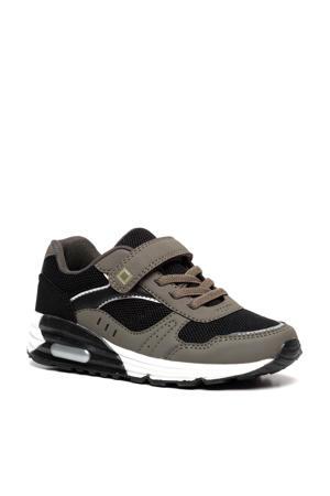 sneakers zwart/groen