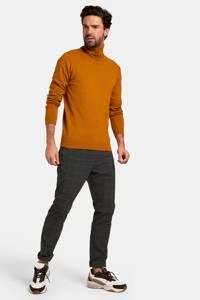 Refill by Shoeby geruite pantalon Patrick antraciet, Antraciet