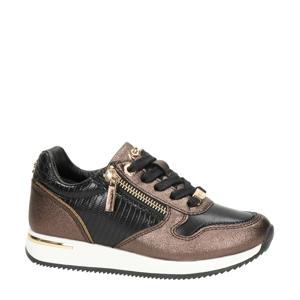 Froukje  sneakers brons/zwart