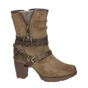 laarzen met sierbandjes bruin