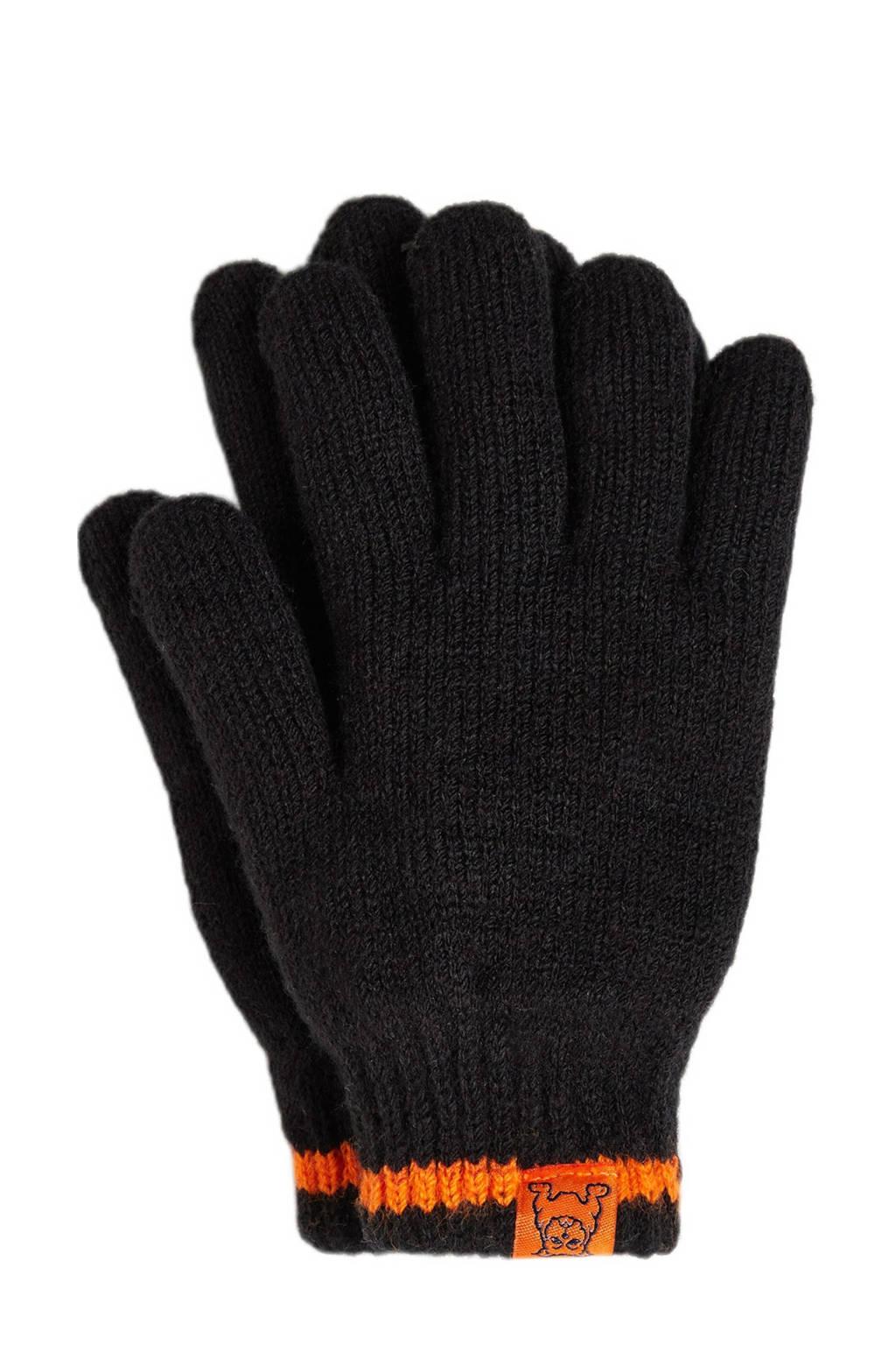 WE Fashion Salty Dog handschoenen marine, Eclipse