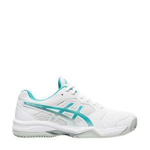 Gel-dedicate 6 Clay tennisschoenen wit/aqua
