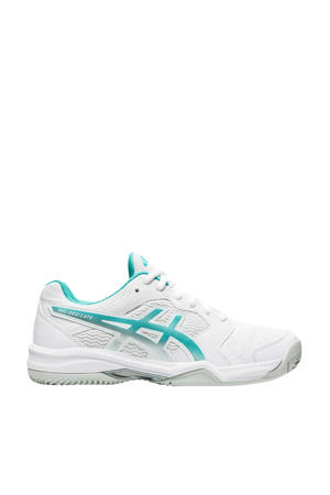Gel-dedicate 6 Clay tennisschoenen wit/aqua