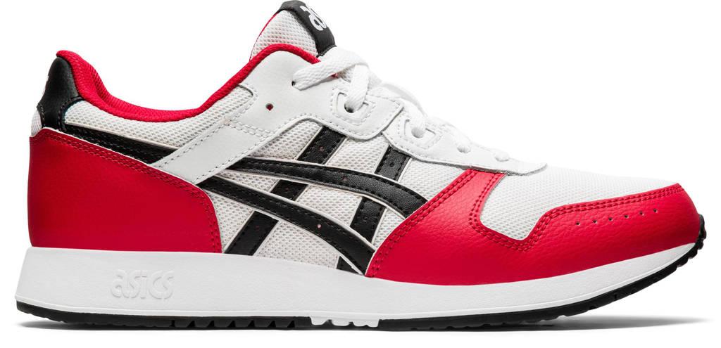 ASICS Lyte Classic  sneakers wit/rood/zwart, Wit/rood/zwart