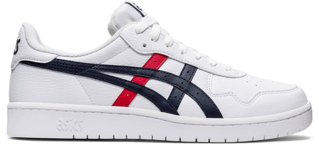 ASICS  Japan S sneakers wit/donkerblauw/rood, Wit/donkerblauw/rood