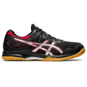 Gel-Task 2 sportschoenen zwart/rood/wit