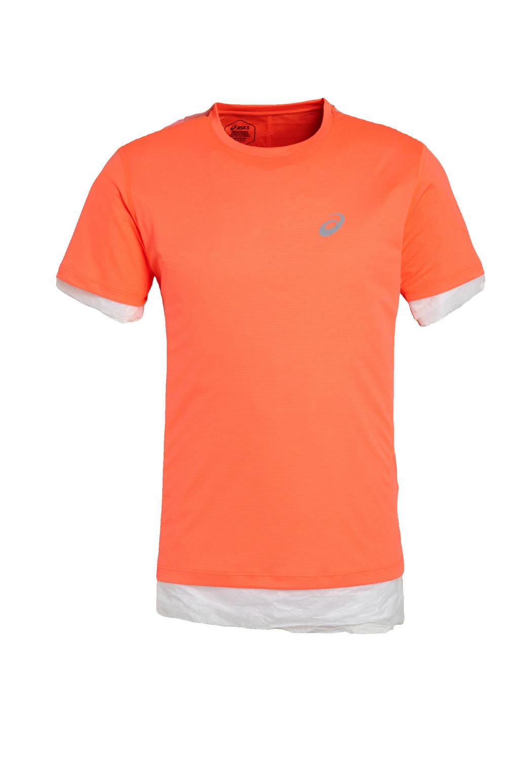 ASICS   hardloop T-shirt oranje, Oranje