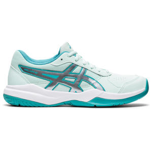 Gel-Game 7 (GS) tennisschoenen wit/mint/zilver