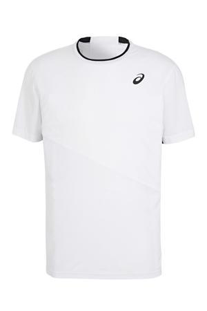 sport T-shirt wit/zwart