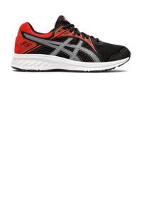 ASICS Jolt 2 GS hardloopschoenen zwart/rood kids, Zwart/rood