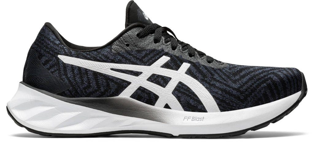 ASICS Roadblast  hardloopschoenen zwart/wit, Zwart/wit
