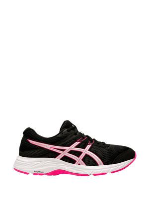 Gel-Contend 6 hardloopschoenen zwart/roze