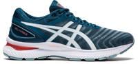 ASICS Gel-Nimbus 22 hardloopschoenen grijs/blauw, Grijs/blauw
