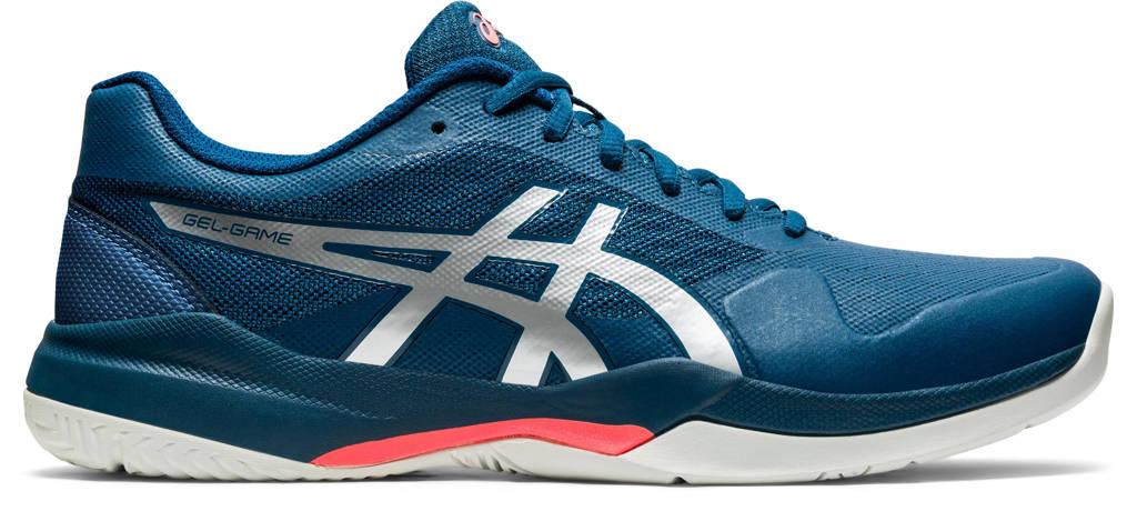 ASICS Gel-Game 7 tennisschoenen donkerblauw/zilver, Donkerblauw/zilver