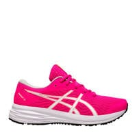 ASICS Patriot 12 hardloopschoenen roze/geel meisjes, Roze/geel