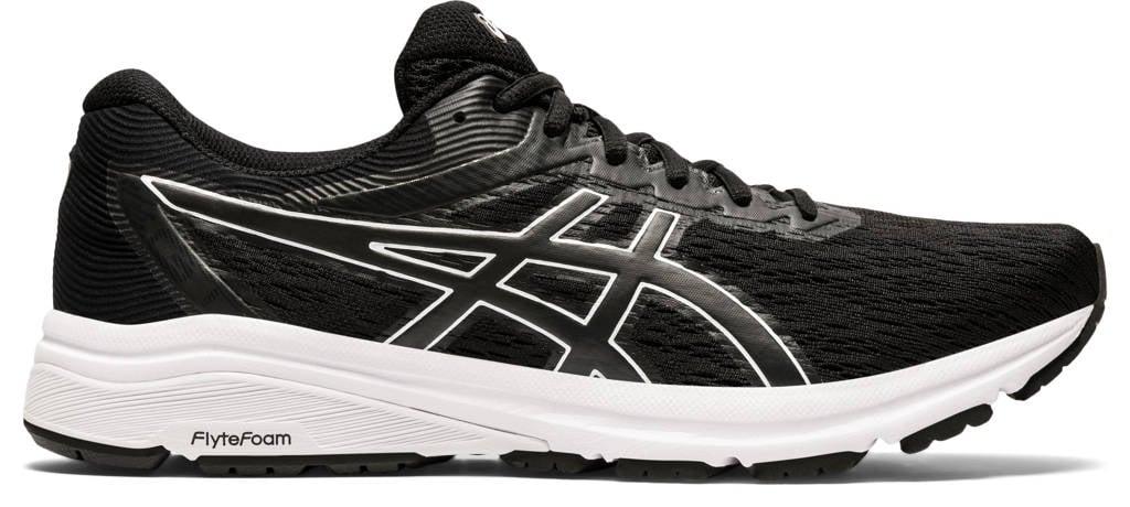 ASICS GT-800  hardloopschoenen zwart/wit, Zwart/wit